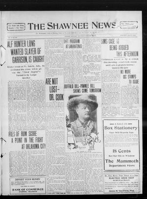 Primary view of object titled 'The Shawnee News. (Shawnee, Okla.), Vol. 14, No. 269, Ed. 1 Wednesday, September 29, 1909'.