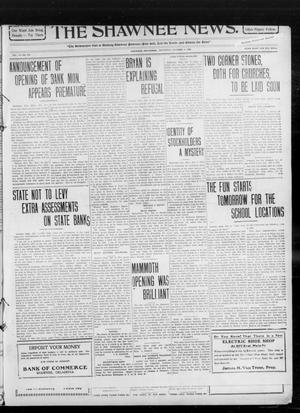 Primary view of object titled 'The Shawnee News. (Shawnee, Okla.), Vol. 14, No. 272, Ed. 1 Saturday, October 2, 1909'.