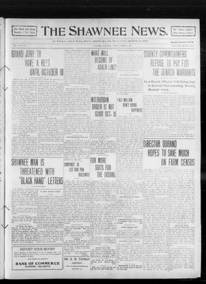 Primary view of object titled 'The Shawnee News. (Shawnee, Okla.), Vol. 14, No. 277, Ed. 1 Friday, October 8, 1909'.