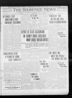 Primary view of object titled 'The Shawnee News. (Shawnee, Okla.), Vol. 14, No. 236, Ed. 1 Thursday, October 21, 1909'.