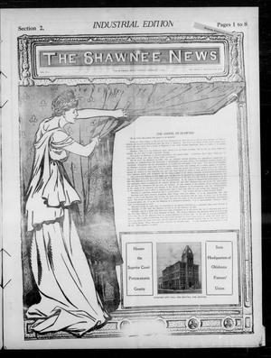 Primary view of object titled 'The Shawnee News. (Shawnee, Okla.), Vol. 14, No. 223, Ed. 2 Tuesday, February 1, 1910'.