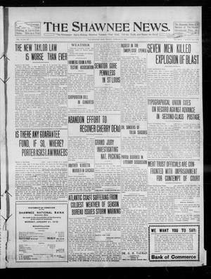 Primary view of object titled 'The Shawnee News. (Shawnee, Okla.), Vol. 14, No. 227, Ed. 1 Monday, February 7, 1910'.