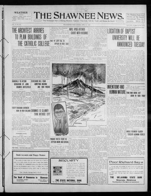 Primary view of object titled 'The Shawnee News. (Shawnee, Okla.), Vol. 14, No. 271, Ed. 1 Monday, April 11, 1910'.