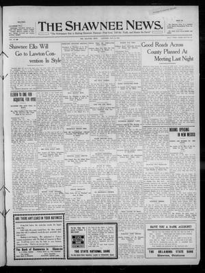 Primary view of The Shawnee News. (Shawnee, Okla.), Vol. 14, No. 300, Ed. 1 Saturday, May 14, 1910