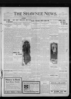 Primary view of object titled 'The Shawnee News. (Shawnee, Okla.), Vol. 14, No. 305, Ed. 1 Friday, May 20, 1910'.