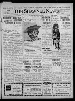 Primary view of object titled 'The Shawnee News. (Shawnee, Okla.), Vol. 15, No. 94, Ed. 1 Monday, August 15, 1910'.