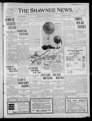 Primary view of object titled 'The Shawnee News. (Shawnee, Okla.), Vol. 15, No. 131, Ed. 1 Friday, September 30, 1910'.