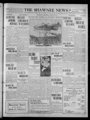 Primary view of object titled 'The Shawnee News (Shawnee, Okla.), Vol. 15, No. 196, Ed. 1 Friday, December 16, 1910'.