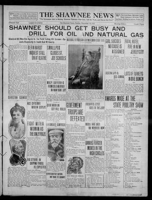 Primary view of object titled 'The Shawnee News (Shawnee, Okla.), Vol. 15, No. 197, Ed. 1 Sunday, December 18, 1910'.