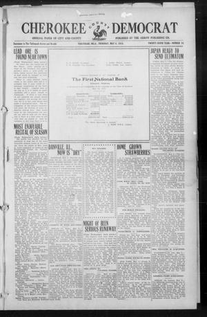 Primary view of object titled 'Cherokee County Democrat (Tahlequah, Okla.), Vol. 29, No. 34, Ed. 1 Thursday, May 6, 1915'.