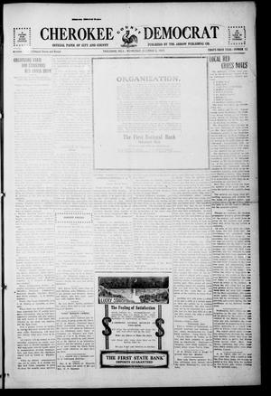 Primary view of object titled 'Cherokee County Democrat (Tahlequah, Okla.), Vol. 33, No. 12, Ed. 1 Wednesday, December 5, 1917'.