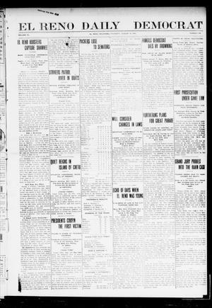 Primary view of object titled 'El Reno Daily Democrat (El Reno, Okla.), Vol. 9, No. 118, Ed. 1 Thursday, August 19, 1909'.