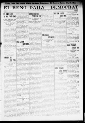 Primary view of object titled 'El Reno Daily Democrat (El Reno, Okla.), Vol. 10, No. 4, Ed. 1 Saturday, April 9, 1910'.