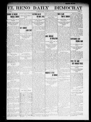 Primary view of object titled 'El Reno Daily Democrat (El Reno, Okla.), Vol. 10, No. 26, Ed. 1 Thursday, May 5, 1910'.