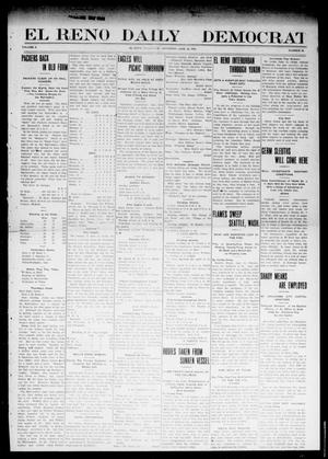 Primary view of object titled 'El Reno Daily Democrat (El Reno, Okla.), Vol. 10, No. 58, Ed. 1 Friday, June 10, 1910'.