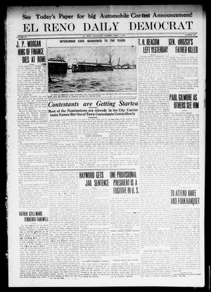Primary view of object titled 'El Reno Daily Democrat (El Reno, Okla.), Vol. 22, No. 295, Ed. 1 Tuesday, April 1, 1913'.