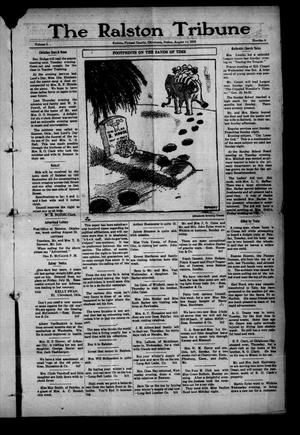 Primary view of object titled 'The Ralston Tribune (Ralston, Okla.), Vol. 1, No. 8, Ed. 1 Friday, August 11, 1916'.