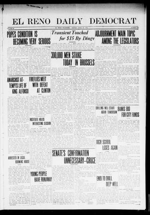 Primary view of object titled 'El Reno Daily Democrat (El Reno, Okla.), Vol. 22, No. 305, Ed. 1 Monday, April 14, 1913'.