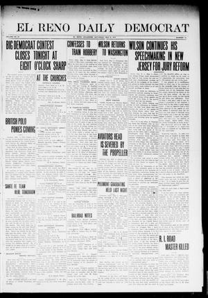 Primary view of object titled 'El Reno Daily Democrat (El Reno, Okla.), Vol. 23, No. 11, Ed. 1 Saturday, May 3, 1913'.