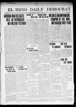 Primary view of object titled 'El Reno Daily Democrat (El Reno, Okla.), Vol. 23, No. 21, Ed. 1 Friday, May 16, 1913'.