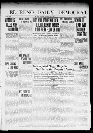 Primary view of object titled 'El Reno Daily Democrat (El Reno, Okla.), Vol. 23, No. 27, Ed. 1 Saturday, May 24, 1913'.