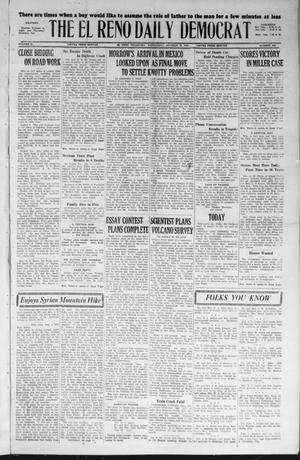 Primary view of The El Reno Daily Democrat (El Reno, Okla.), Vol. 36, No. 228, Ed. 1 Wednesday, October 19, 1927