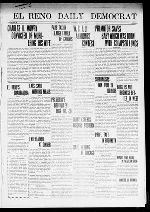 Primary view of object titled 'El Reno Daily Democrat (El Reno, Okla.), Vol. 23, No. 40, Ed. 1 Thursday, June 12, 1913'.