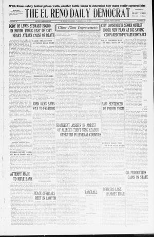 Primary view of The El Reno Daily Democrat (El Reno, Okla.), Vol. 36, No. 144, Ed. 1 Tuesday, July 12, 1927