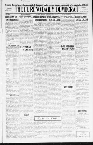 Primary view of The El Reno Daily Democrat (El Reno, Okla.), Vol. 36, No. 187, Ed. 1 Wednesday, August 31, 1927