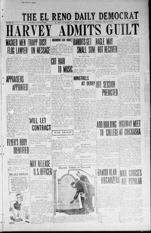 Primary view of object titled 'The El Reno Daily Democrat (El Reno, Okla.), Vol. 33, No. 108, Ed. 1 Saturday, January 12, 1924'.