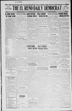 Primary view of object titled 'The El Reno Daily Democrat (El Reno, Okla.), Vol. 36, No. 104, Ed. 1 Monday, May 23, 1927'.