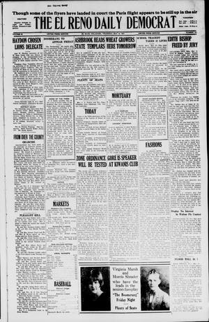 Primary view of object titled 'The El Reno Daily Democrat (El Reno, Okla.), Vol. 36, No. 101, Ed. 1 Thursday, May 19, 1927'.