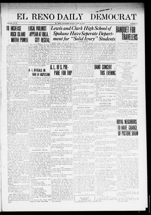 Primary view of object titled 'El Reno Daily Democrat (El Reno, Okla.), Vol. 23, No. 47, Ed. 1 Friday, June 20, 1913'.