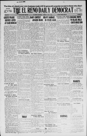 Primary view of object titled 'The El Reno Daily Democrat (El Reno, Okla.), Vol. 36, No. 112, Ed. 1 Thursday, June 2, 1927'.
