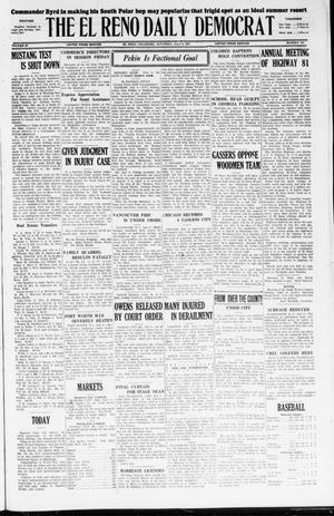 Primary view of object titled 'The El Reno Daily Democrat (El Reno, Okla.), Vol. 36, No. 142, Ed. 1 Saturday, July 9, 1927'.