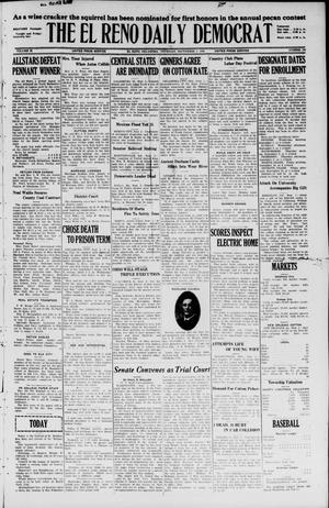 Primary view of The El Reno Daily Democrat (El Reno, Okla.), Vol. 35, No. 196, Ed. 1 Thursday, September 2, 1926
