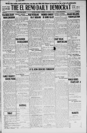 Primary view of The El Reno Daily Democrat (El Reno, Okla.), Vol. 35, No. 203, Ed. 1 Saturday, September 11, 1926