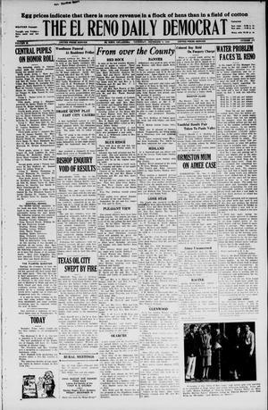 Primary view of The El Reno Daily Democrat (El Reno, Okla.), Vol. 35, No. 278, Ed. 1 Thursday, December 9, 1926
