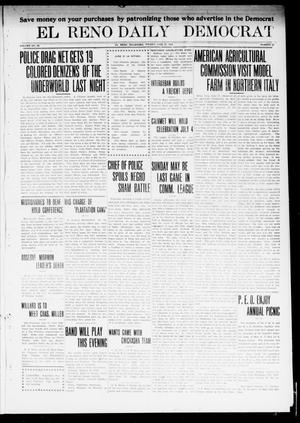Primary view of object titled 'El Reno Daily Democrat (El Reno, Okla.), Vol. 23, No. 52, Ed. 1 Friday, June 27, 1913'.