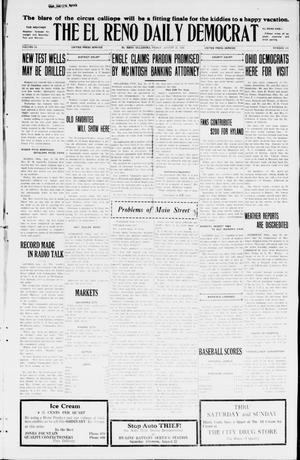 Primary view of object titled 'The El Reno Daily Democrat (El Reno, Okla.), Vol. 34, No. 191, Ed. 1 Friday, August 21, 1925'.