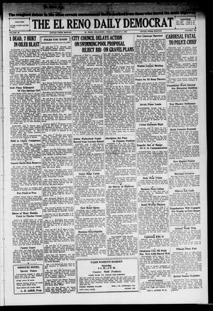 Primary view of The El Reno Daily Democrat (El Reno, Okla.), Vol. 38, No. 162, Ed. 1 Friday, August 9, 1929