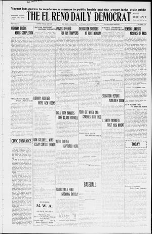 Primary view of The El Reno Daily Democrat (El Reno, Okla.), Vol. 35, No. 128, Ed. 1 Saturday, June 12, 1926