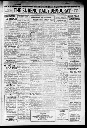 Primary view of object titled 'The El Reno Daily Democrat (El Reno, Okla.), Vol. 38, No. 145, Ed. 1 Saturday, July 20, 1929'.