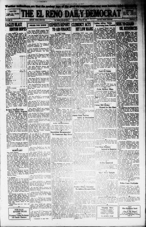 Primary view of object titled 'The El Reno Daily Democrat (El Reno, Okla.), Vol. 38, No. 109, Ed. 1 Monday, June 10, 1929'.