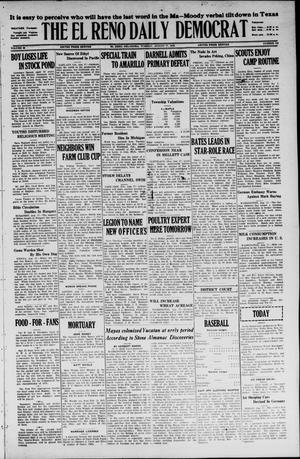 Primary view of object titled 'The El Reno Daily Democrat (El Reno, Okla.), Vol. 35, No. 183, Ed. 1 Tuesday, August 17, 1926'.
