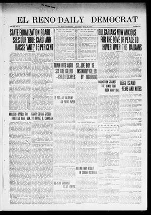 Primary view of object titled 'El Reno Daily Democrat (El Reno, Okla.), Vol. 23, No. 64, Ed. 1 Saturday, July 12, 1913'.