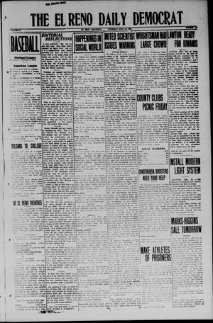 Primary view of object titled 'The El Reno Daily Democrat (El Reno, Okla.), Vol. 33, No. 273, Ed. 1 Thursday, July 24, 1924'.