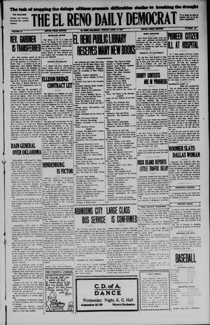 Primary view of The El Reno Daily Democrat (El Reno, Okla.), Vol. 34, No. 194, Ed. 1 Monday, April 27, 1925