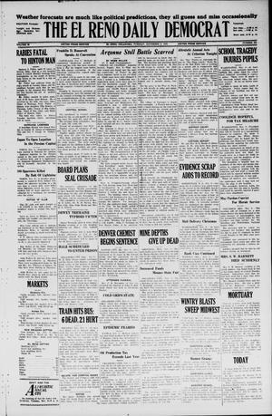 Primary view of The El Reno Daily Democrat (El Reno, Okla.), Vol. 35, No. 253, Ed. 1 Tuesday, November 9, 1926