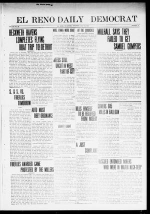 Primary view of object titled 'El Reno Daily Democrat (El Reno, Okla.), Vol. 23, No. 70, Ed. 1 Friday, July 18, 1913'.